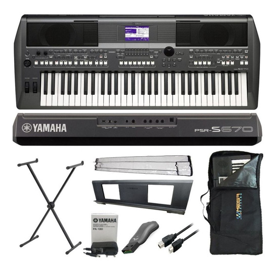 Kit Completo Teclado Arranajdor Yamaha Psr-s670