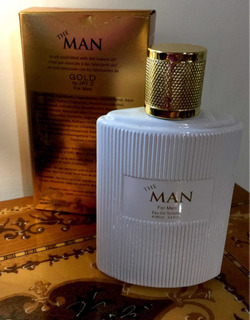 Perfume The Man. Gold By Jay Z For Men 100 Ml. Frasco Vacío