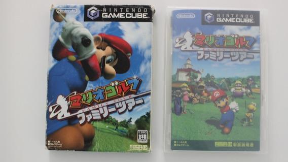 Mario Golf Family Tour Para Game Cube Japonês