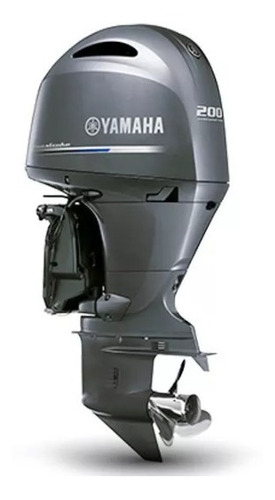 Motor De Popa Yamaha 200hp Fetl 4 T 0km 2021 ( 12 X Cartão )