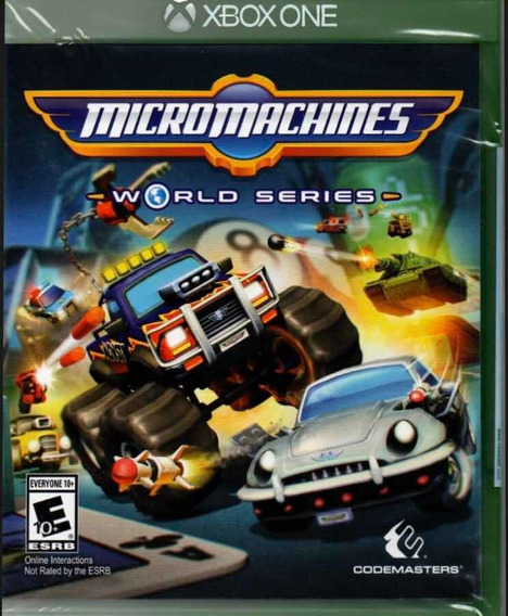 Micro Machines World Series Xbox One Novo Lacrado