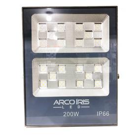 Refletor De Led 200w Branco Frio Multifocal Smd Quadra Campo