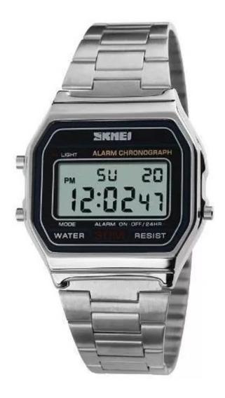 Relógio Led Skmei 1123 Luxo Feminino Masculino