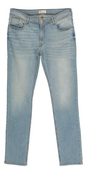 Jeans Corte Skinny Stretch De Hombre C&a