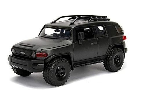 Toyota Fj  Con Portaequipajes De Techo (sin Caja) En Gris