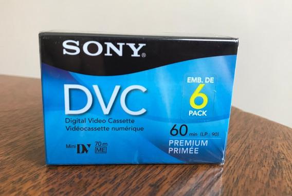 Fita Minidv - Sony Dvc Premium - Lacrada! Última Em Estoque!