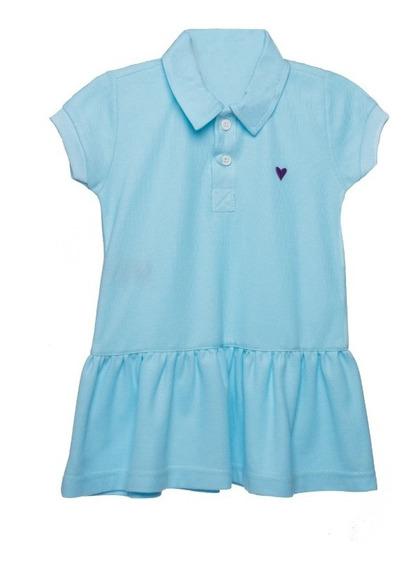 Vestido Para Niña Bambino Polo