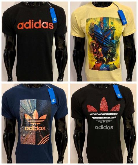 Kit 10 Camisetas Camisas Masculinas Marcas Famosas