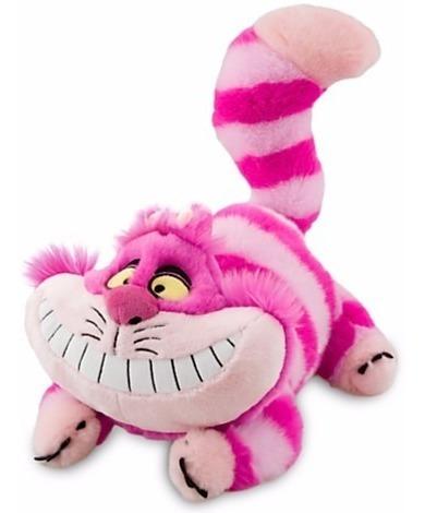 Disney Store Gato Alice In Wonderland Pelúcia Medio 30cm