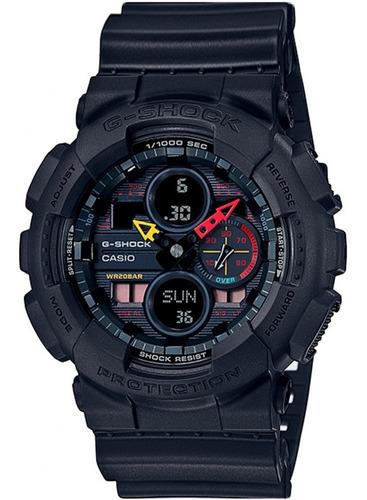 Relógio Casio G-shock Preto Ga-140bmc-1adr + Garantia + Nfe