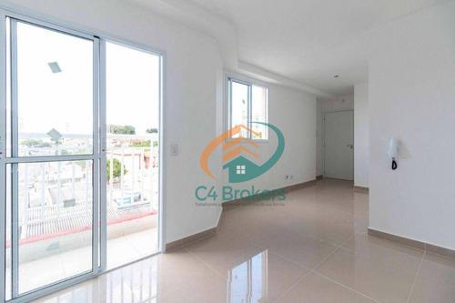 Imagem 1 de 21 de Apartamento Com 2 Dormitórios À Venda, 52 M² Por R$ 365.000,00 - Vila Guilhermina - São Paulo/sp - Ap4288