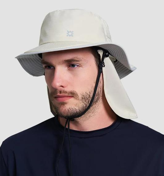 Uv Line Chapéu Kansas Masculino Proteção Solar + Barato