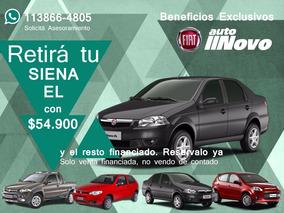 Fiat Nuevo Siena El Negro 1.4 Nafta 2017 0km Autonovo S.a