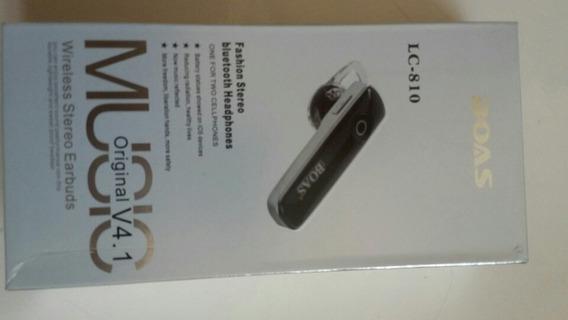 Fone De Ouvido Bluetooth 3.0