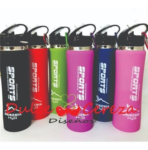 Botella Termica Deportiva X 500ml Colores