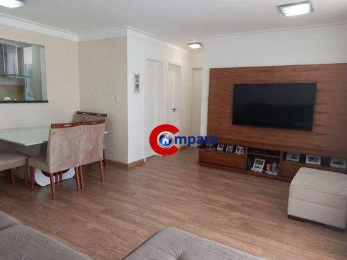 Apartamento Com 2 Dormitórios À Venda, 80 M² Por R$ 620.000 - Centro - Guarulhos/sp - Ap9866