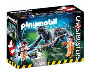 Playmobil Caça-fantasmas 9223 - Venkan E Cães Do Terror