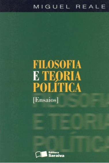 Filosofia E Teoria Política