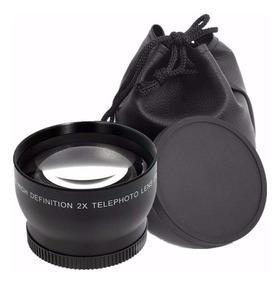 Lente Hd Tele Objetiva Digital 2x 52mm Nikon Canon Sony