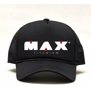 Boné Preto Max Titanium