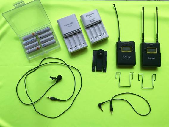Microfone Sony Uwp-d11 + 8 Pilhas Eneloop Panasonic
