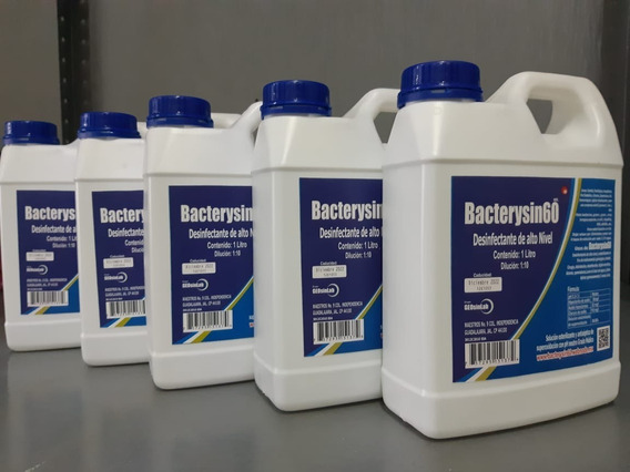 Bacterysin Antiséptico Tipo Microdasyn Desinfectante 5l