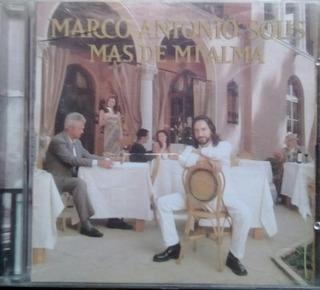 Cd Marco Antonio Solis Mas De Mi Alma 2001