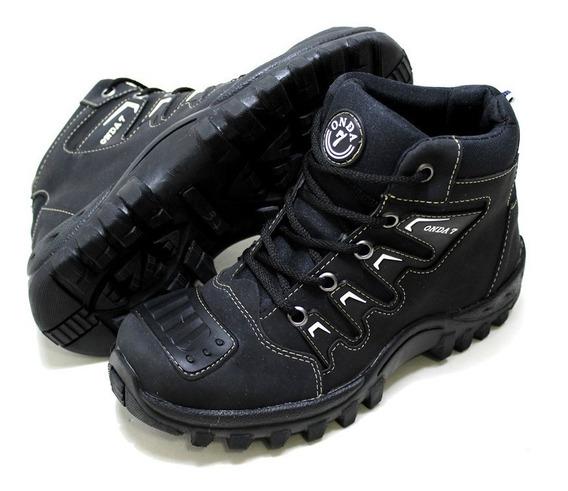 Sapato Masculino Sola De Borracha Trabalho Motorista Confort