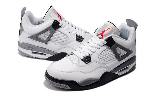 Tenis Zapatillas Jordan Retro 4 White Para Hombre