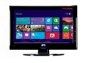 Monitor Sti Widescreen Led 18,5