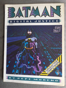 Hq Batman Digital Justice Graphic Album N 2 Abril Jovem 1990