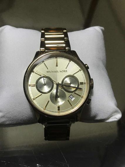 Relógio Dourado Michael Kors 5986