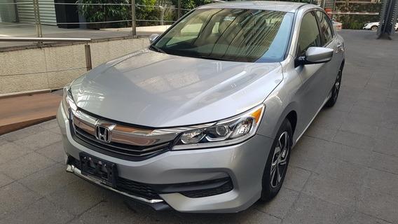 Honda Accord 2017 Lx 4 Cilindros, Automatico, Seminuevo