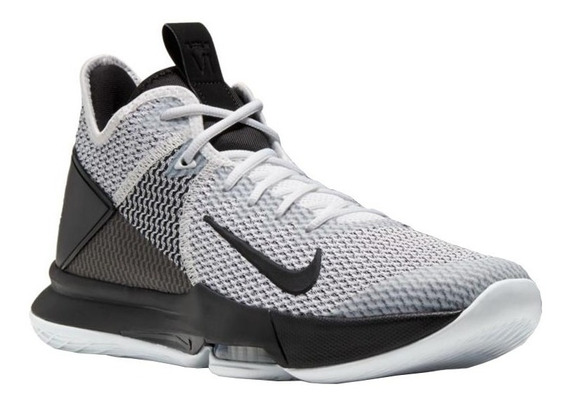 Tenis Nike Lebron Witness Iv Blanco, Negro