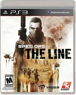 Spec Ops The Line Ps3 Nuevo Y Sellado