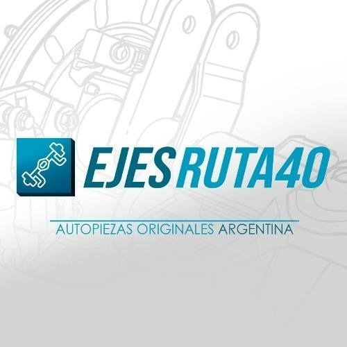 Eje Trasero Completo Ford Fiesta Kinetic % Original