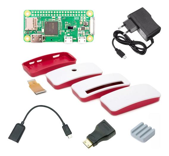Raspberry Pi Zero W Kit E14 Rs Rpi0w Base Fuente
