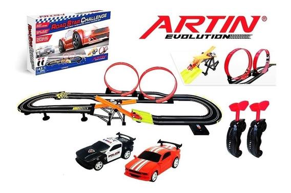 Pista Autos Scalextric Artin Evo Road Int 8005005 Orig Sudam