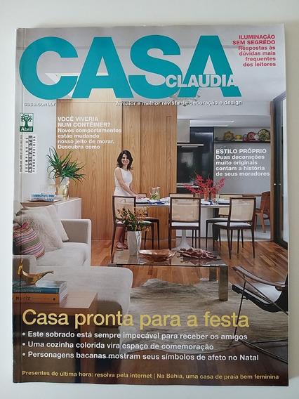 Revista Casa Claudia Edição 628 De Dezembro De 2013