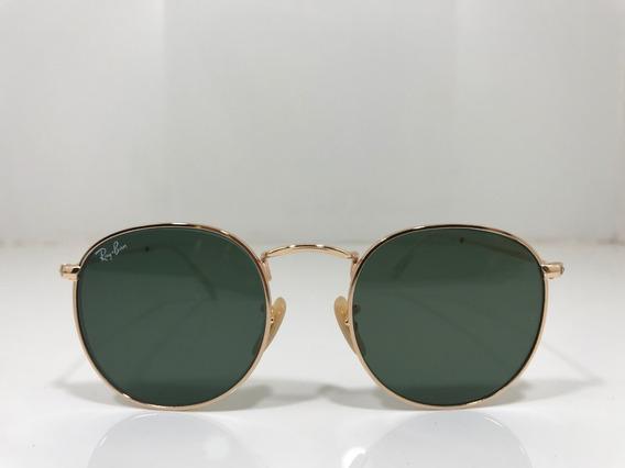 Oculos Ray Ban Rb 3447 Round Redondo Originais