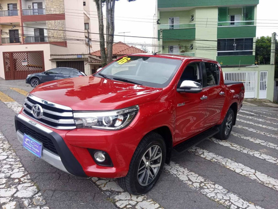 Toyota Hillux Srx 2.8 Diesel Blindada 2016