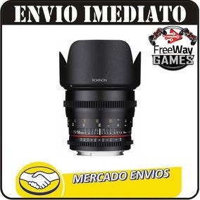 Lente Rokinon 50mm Ds50m-s Original C/ Garantia + Nfe