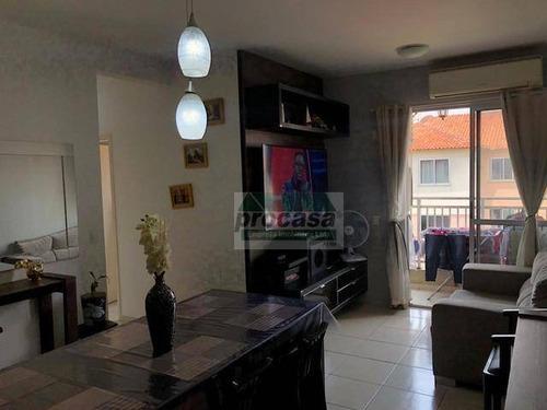 Imagem 1 de 6 de Apartamento Com 3 Dormitórios À Venda, 76 M² Por R$ 244.000 - Colônia Terra Nova - Manaus/am - Ap3182