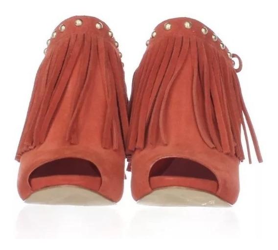 Zapatillas Guess Ara Suede Orange Mujer No. Fs22086
