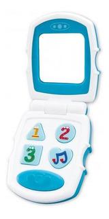 Juguete Para Bebes Celular Tapita Con Sonidos Luces Love 710
