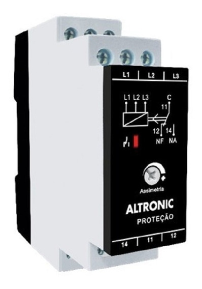 Relé Falta De Fase Altronic Ff-01 220/380v
