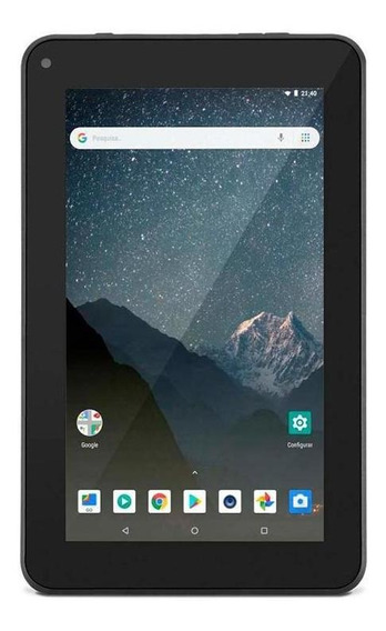 Tablet Multilaser M7s Lite 7 Wi-fi 8gb 1.3 Mp Preto Nb296