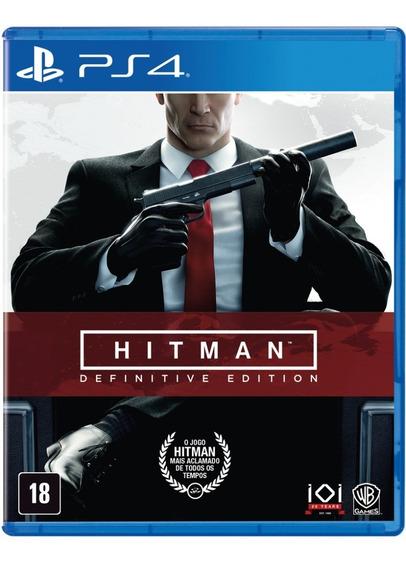 Jogo Hitman - Definitive Edition (ps4) Novo