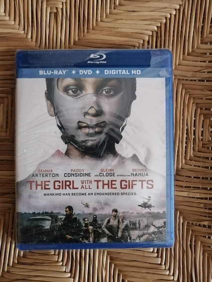 The Girl With All The Gifts Blu Ray + Dvd + Digit Importado