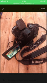 Câmera Semi-profissional Nikon Coolpix P600